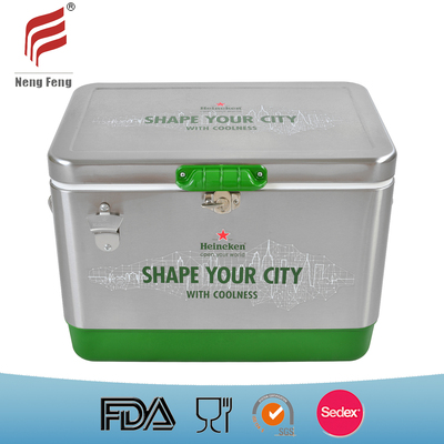 51LStainless Steel Cooler Box